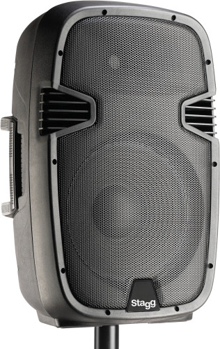 "12"" 2-way active speaker, analog, class B, bi-amplification, 270 watts peak power (240 + 30)"