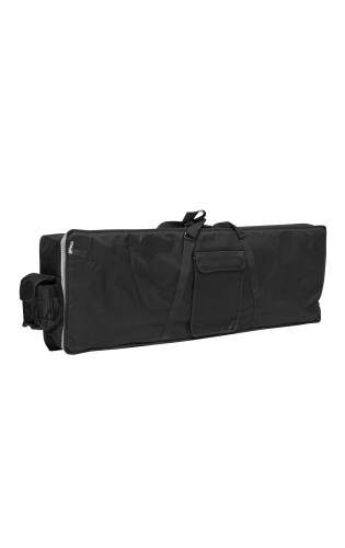 Standard black nylon keyboard bag with 10mm thick padding