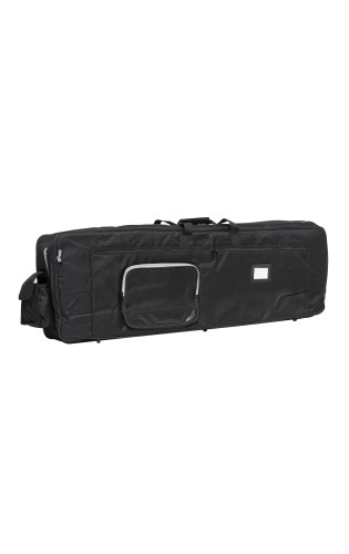 Deluxe black nylon keyboard bag with 18mm thick padding