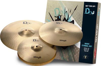 Brass cymbal study set