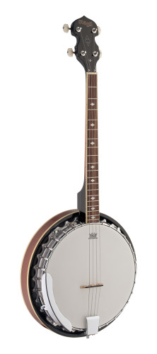 4-string Bluegrass Banjo Deluxe with metal pot