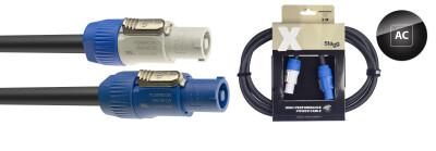 X-Series Neutrik PowerCON A - PowerCON B Power Cable