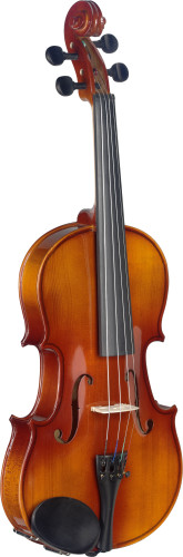 3/4 solid maple violin with soft case