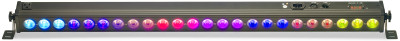 Architectural colour bar with 24 x 4-watt (4 in 1) RGBW LED