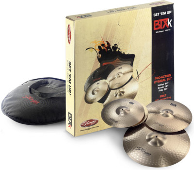 B10 Bronze Cymbal Set for beginners/students