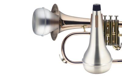 Sourdine droite pour bugle