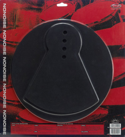 Neoprene practice pad for hi-hat