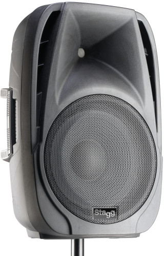 "12"" 2-way active speaker, digital, class D, with Bluetooth, 400 watts peak power (330 + 70)"