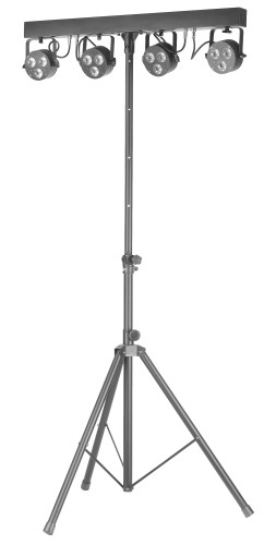 Pack lumière Performer 72 watts RGBW, avec 4 projecteurs