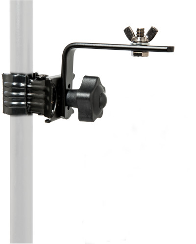 Lighting holder, with clamp, short