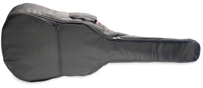 Basic series padded nylon bag for folk, western or dreadnought guitar