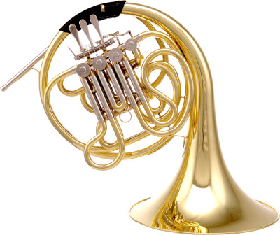 F/Bb Double French Horn, in light case