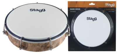 "8"" Tuneable plastic hand-drum"