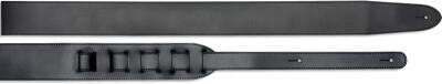 "6cm / 2.4"" Leather guitar strap - Standard"