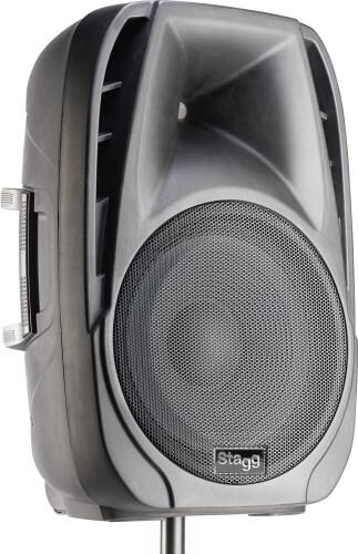 """Actieve tweewegspeaker met 15"""" woofer, digitaal, klasse D, met Bluetooth, 600 watt piekvermogen"""