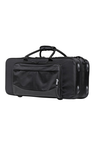 Soft case for alto saxophone, black