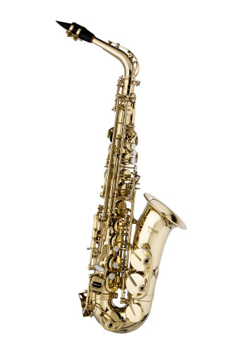 Eb Alto Saxophone, in form case