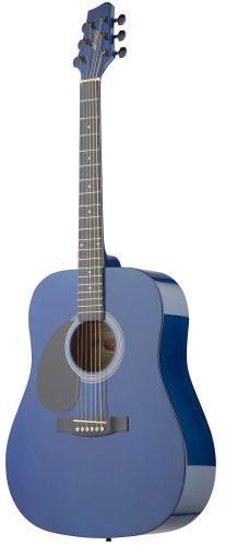 Dreadnought Acoustic Guitar with basswood top