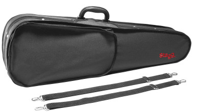 Lightweight violin-shaped soft case for 4/4 violin