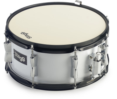 "13"" x 6"" marchingsnaredrum met draagband"