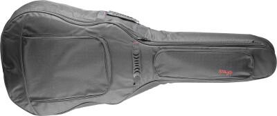 Gepolsterde gitaarhoes voor western jumbo-gitaar, General-serie