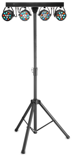 Performer Set mit 4 PAR 12 x 1-Watt M4 RGBW