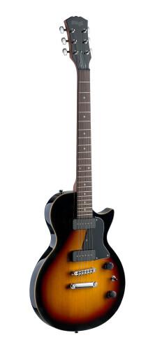 """Guitare électrique P90, Série ROCK """"L"""", avec corps en aulne massif"""