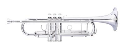 Bes-trompet, middelgrote boring (ML), goudmessing mondpijp