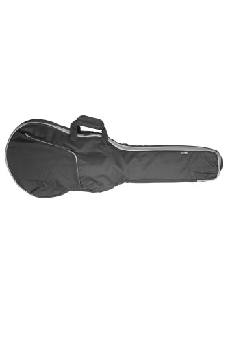 Basic series padded water repellent nylon bag for semi-acoustic guitar