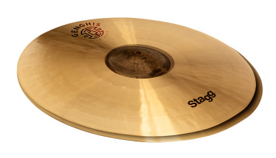 "14"" Genghis medium hi-hat, Exo series"