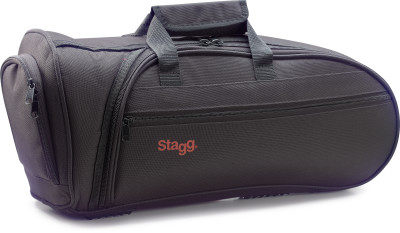 Lightweight, wear-proof nylon soft case for bugle horn