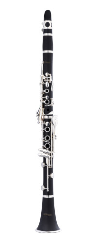 Bb clarinet, Boehm system, ABS body and silver keys and rings