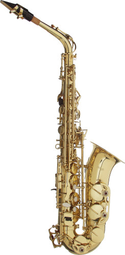 Eb Alto Saxofoon, in ABS koffer