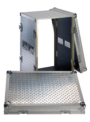 Professional Flight Case for 16-unit rack