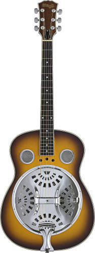 Acoustic resonator guitar