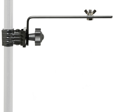 Lighting holder, with clamp, long