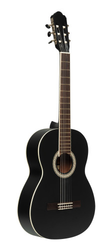 SCL70 classical guitar with spruce top, black