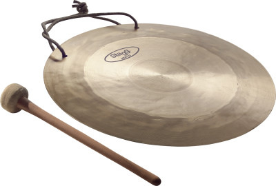"12"" Wind Gong with beater"